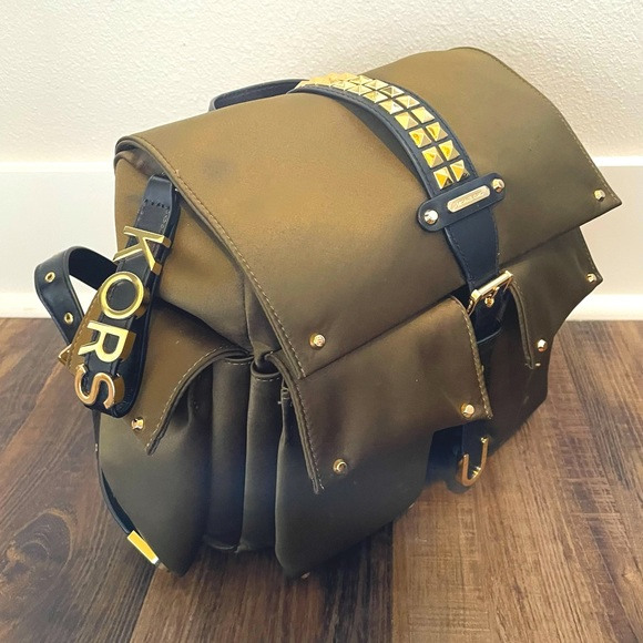 Edgy Studded Backpack